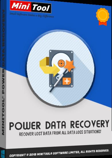 MiniTool Power Data Recovery 9.1 Crack & Serial Key [2021 Latest]