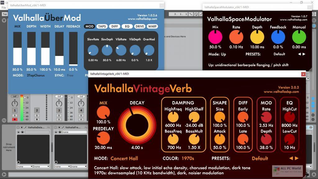 ValhallaDSP Bundle Crack Full version 2020.12 Latest Free Download